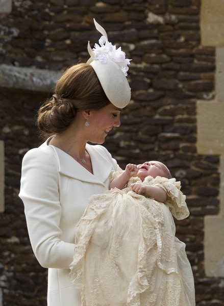 Royal Babies Are Christened In The Same Robe
