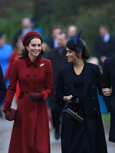Kate Middleton And Meghan Markle's Maternity Looks Compared