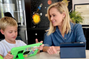 Funny Distance Learning Moments From Celebrity Kids
