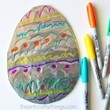 Tin Foil Easter Eggs