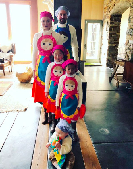 Line Up The Russian Nesting Dolls