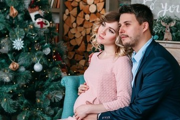 Holiday Pregnancy Announcements That'll Definitely Spread Some Cheer