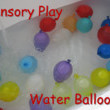 Water Balloons In The Tub