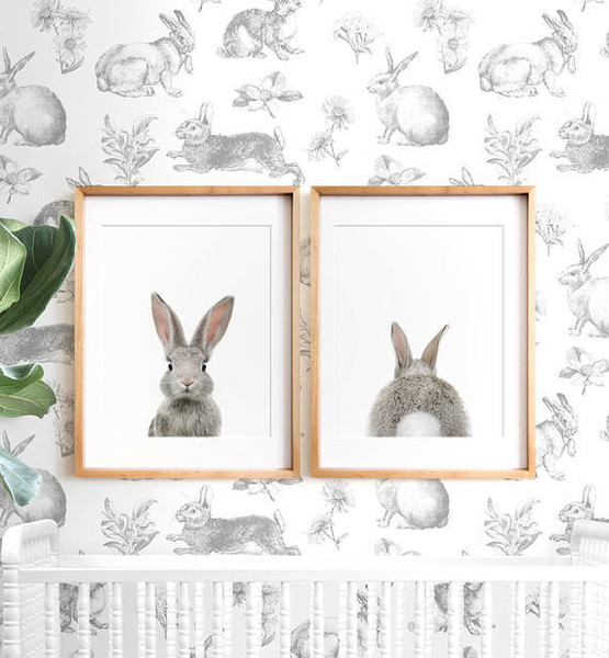 Printable Bunny Art