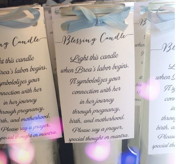 Send guests home with candles
