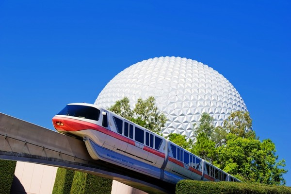 Disney's Epcot In Florida