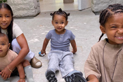 Pictures Of Kim Kardashian's Kids Over The Years