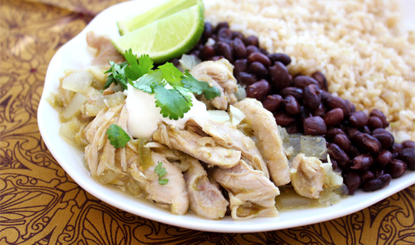 Try Slow Cooker Chicken Chile Verde