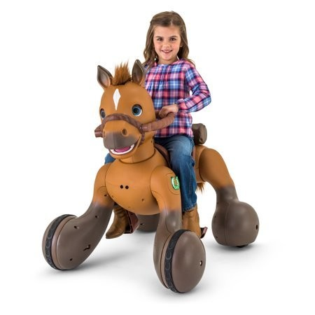 Rideamals Scout Pony Interactive Ride-On Toy