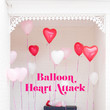 Stage A Balloon Heart Attack At A Neighbor's House