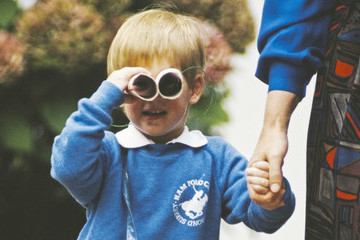 Rare Childhood Photos of Prince William And Harry
