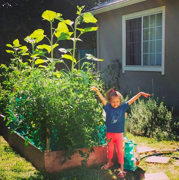 That'sthe thing, there'd be no garden at our house without my mom, regardless of how it might look on Instagram.