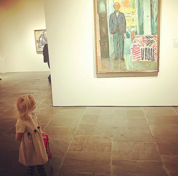 They know visiting a museum with little ones isn't easy