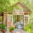 Turn a garden shed into a mom retreat